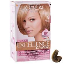 کيت رنگ مو لورآل شماره 8 Excellence
