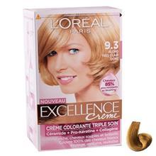 کيت رنگ مو لورآل شماره 9.3 Excellence