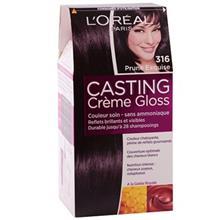 کيت رنگ مو لورآل شماره Casting Creme Gloss 316