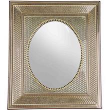 قاب آینه خاتم اعلا اثر خادم ملت