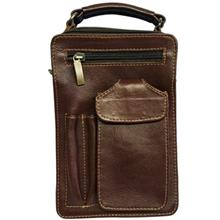کیف دوشی چرم گالری کهن چرم مدل DB35