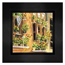 تابلو نقاشی گالری آثار هنر امروز طرح خانه روستایی کد 20992