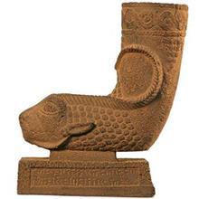 مجسمه ریتون قوچ طرحدار کارگاه تندیس و پیکره شهریار کد MO1830