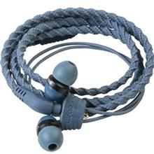 Wraps Talk Denim Wristband Headphones