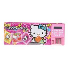 جامدادی مکانیکی مدل Hello Kitty - با ماشین حساب