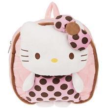 کوله پشتي بچه گانه مدل Hello Kitty Pink