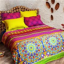 Laico Vivana 160 Multicolour 2 Persons 6 Pieces Bedsheet Set