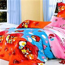 Carina AngryBird3 1 Person 4 Pieces Bedsheet