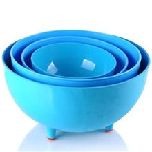 Zibasazan Help Chef Four Size Colorful Bowl Set