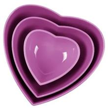 Zibasazan Heart Three Size Bowl