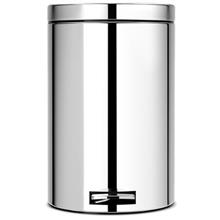 سطل زباله پدالی استیل براق 12 لیتری برابانتیا
