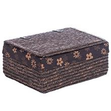 Alfa Flower Medium Horizontal Clothe Basket