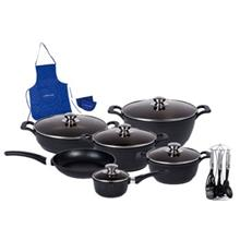 Hardstone 20 Piece Prochef NS1220 Cookware Set