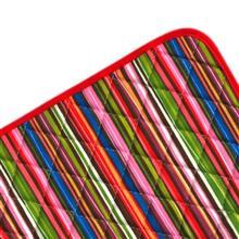 آبگير کنار سينک کتان رزين تاژ طرح راه راه رنگي