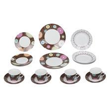 سرويس غذاخوري 20 پارچه Multiplechoice طرح Cupcakes کد 20149