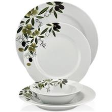 سرویس غذاخوری 24 پارچه شفر طرح Porselen کد 1009