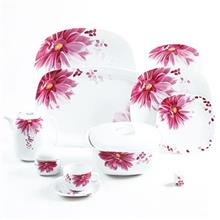 Zarin iran angelica 98 Pieces Porcelain Dinnerware Sets (درجه عالی )