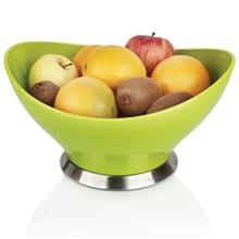 Zibasazan Saghar Steel Base Large Fruit Server