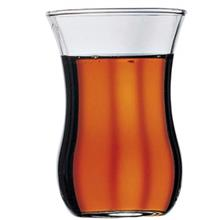 Pasabahce Waist Golden Floral 42021 Tea Glasses Pack of 6