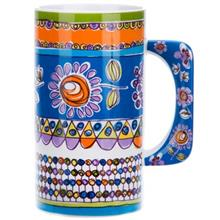 Multiplechoice Blue Flower 20128 Mug