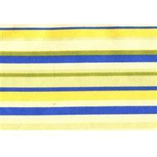 دستمال سفره کتان 36 × 36 رزين تاژ طرح اسپريد آبي