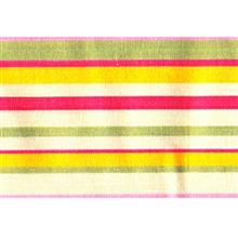 دستمال سفره کتان 36 × 36 رزين تاژ طرح اسپريد صورتي