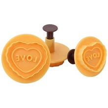 Pedrini Dolci Heart Shaped 3 Pieces Pressure Pan 03GD254