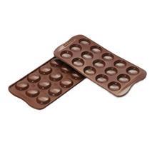 قالب شیرینی سیلیکومارت طرح ماکارون شکلاتی کد SCG21
