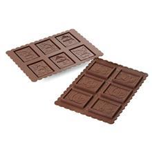 قالب شکلات سيليکومارت طرح آدم برفي کد Ckc01