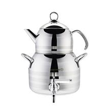 Korkmaz A034 Luna Mega Teapot And Kettle Set