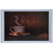 سيني طرح قهوه يزدگل کد 32-343