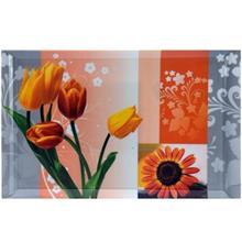 سيني طرح گل نارنجي يزدگل کد 31-401