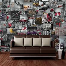 کاغذ دیواری 1وال  مدل چشم انداز شهر