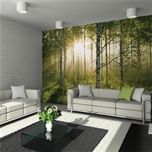 کاغذ دیواری 1وال مدل جنگل تابستانه