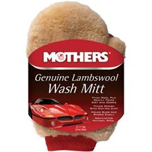 Mothers 156300 Car Wash Mitt From Lambswool