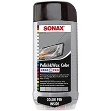 Sonax 296300 Polish and Wax Color For Gray Car 500ml