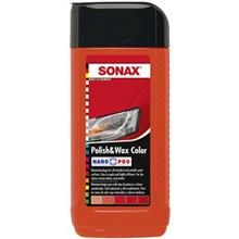 Sonax 296400 Polish and Wax Color For Red Car 500ml