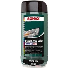 Sonax 296700 Polish and Wax Color For Green Car 500ml