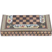 صفحه شطرنج خاتم اثر خادم ملت مدل ستوني طرح چوگان طول 50 سانتي متر