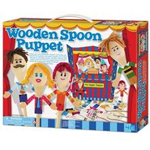 4m Wooden Spoon Puppet 04558 Educational Kit