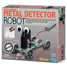 4M Remote Control Metal Detector Robot 03297 Educational Kit