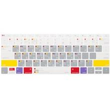 JCPAL VerSkin Mac OS Shortcut Keyboard Film Protector For 12 Inch New MacBook