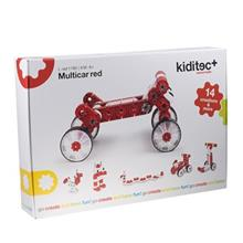 Kiditec Multicar Red Building