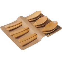 قاشق غذا خوري بامبوم مدل Tai BKCT3 بسته 6 عددي