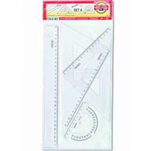 Koh-I-Noor Set 4 9992000064PS Ruler
