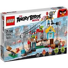 Lego Angry Birds Pig City Teardown 75824