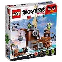 لگو سري Angry Birds مدل Piggy Pirate Ship 75825