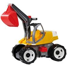 Lena Powerful Giants Excavator Real Color Bix Toys Car