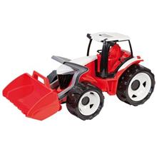 ماشين بازي لينا مدل Powerful Giants Tractor with Shovel Red