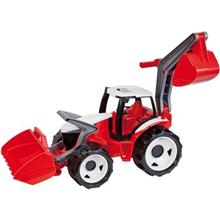 Lena Powerful Giants Tractor with Shovel and Excavator Toys Car